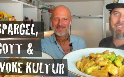 Im Sturzflug durchs Kali Yuga – Auf ein paar Nudeln mit Guru Sebastian Gronbach