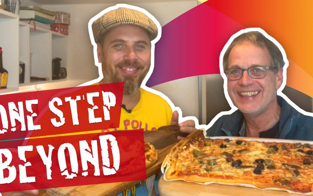ONE Step beyond – Wo die Angst ist geht's lang – Pizza Frutti di Mare mit Markus Klepper